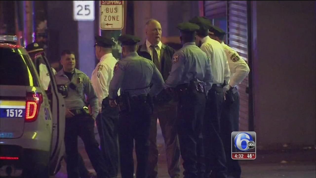 VIDEO: 2 in custody after shooting in Frankford