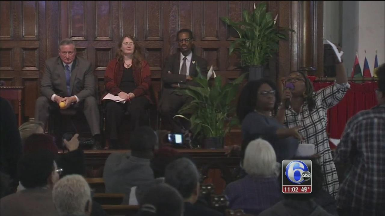 VIDEO: Stop and frisk forum