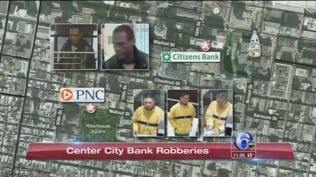 VIDEO: Bank robberies