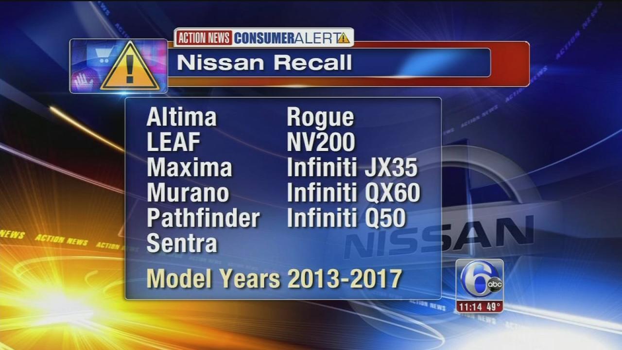 VIDEO: Nissan recall