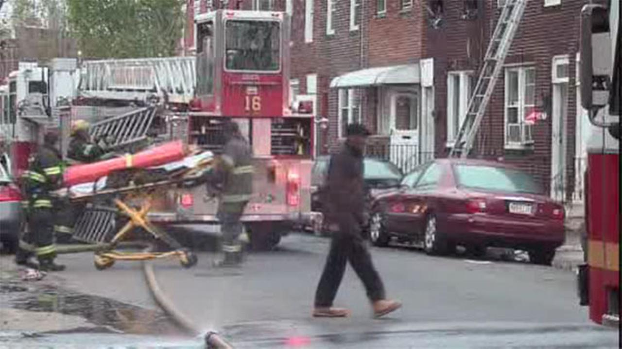 1 adult, 1 child hurt in Port Richmond house fire
