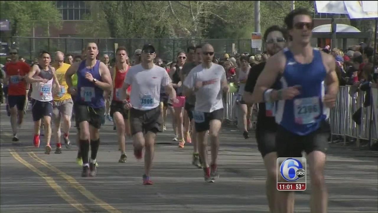 VIDEO: Broad Street Run