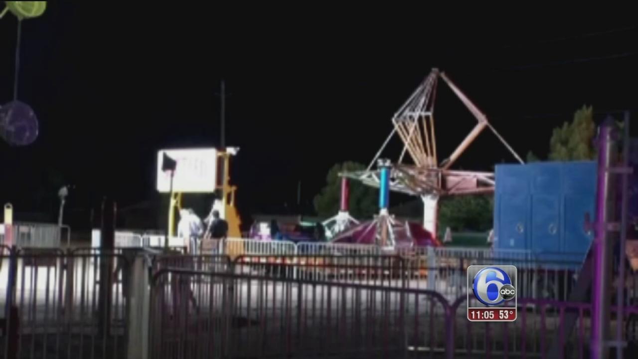 VIDEO: Carnival ax