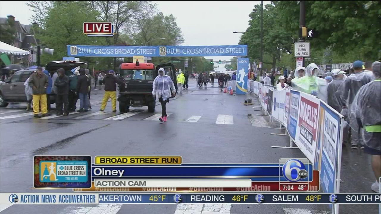 VIDEO: Broad Street Run set to begin