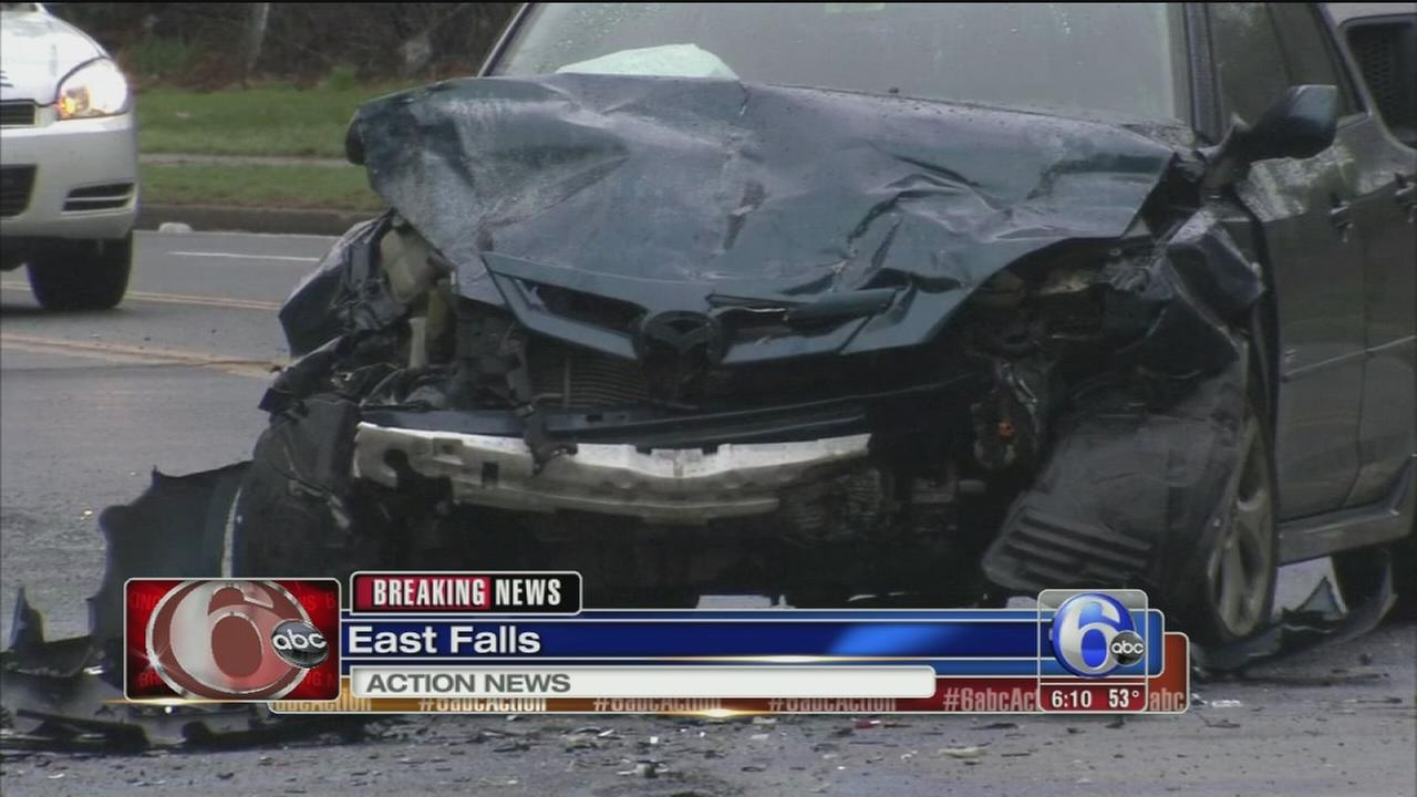 VIDEO: Fatal crash in East Falls