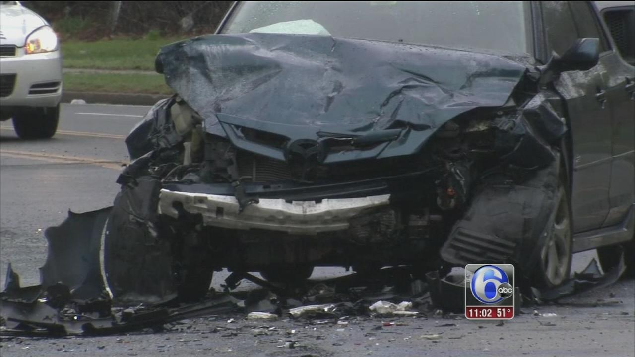 VIDEO: Child dead, 8 people injured in East Falls crash