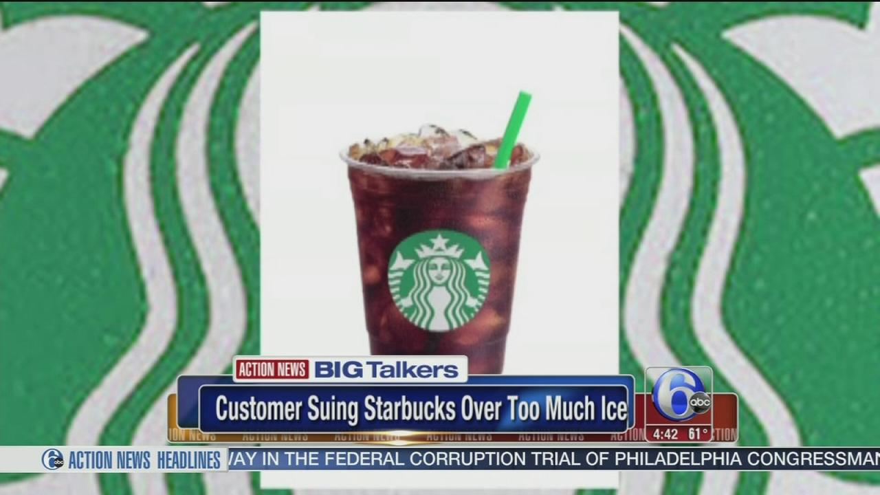 VIDEO: Lawsuit: Starbucks overfills cold drinks with ice
