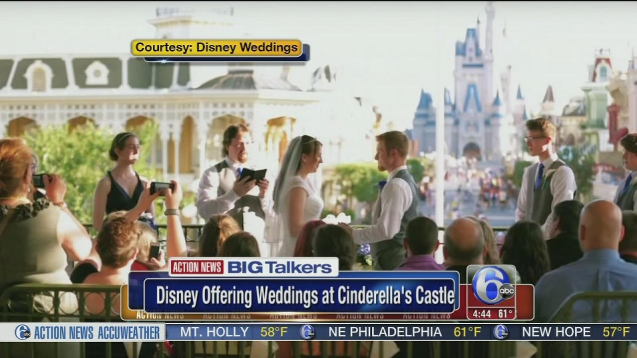 VIDEO: Disney offering weddings at Cinderellas castle