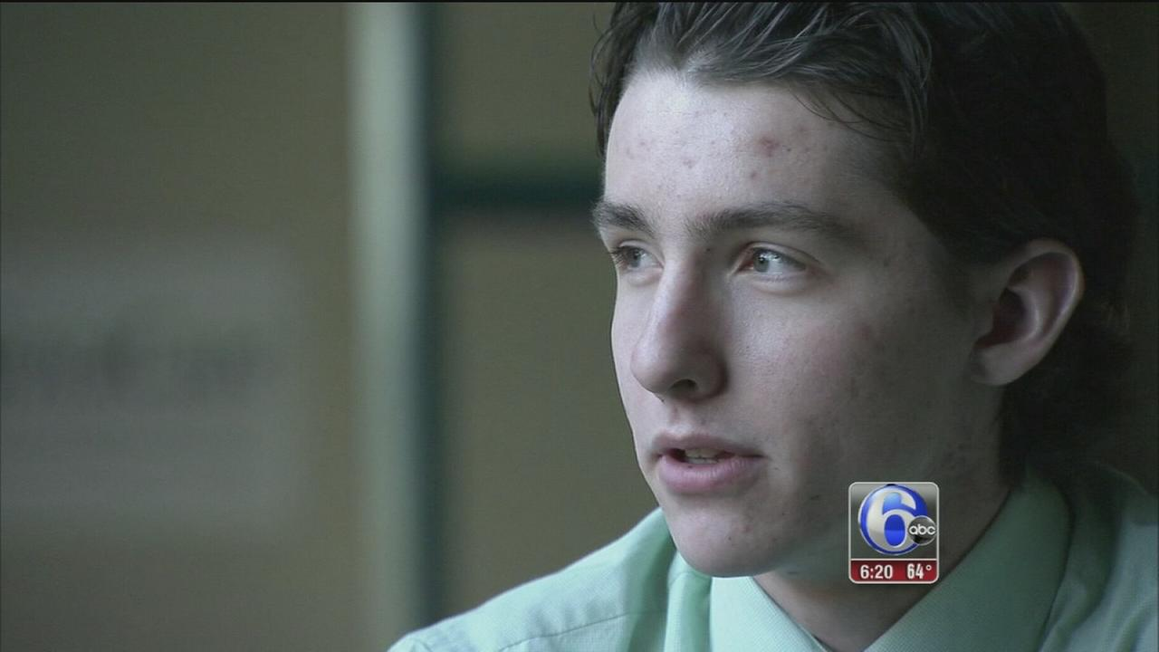 VIDEO: Holy Ghost Prep senior overcome obstacles
