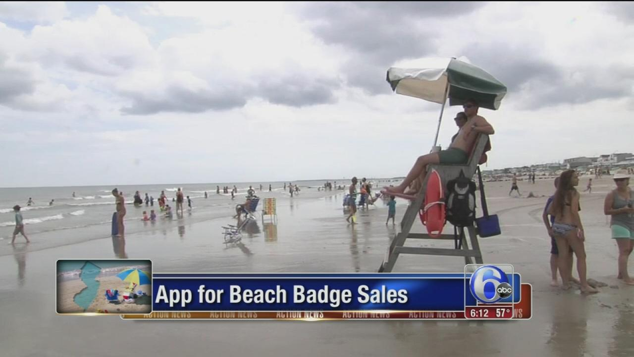 Instant online access to some shore beaches