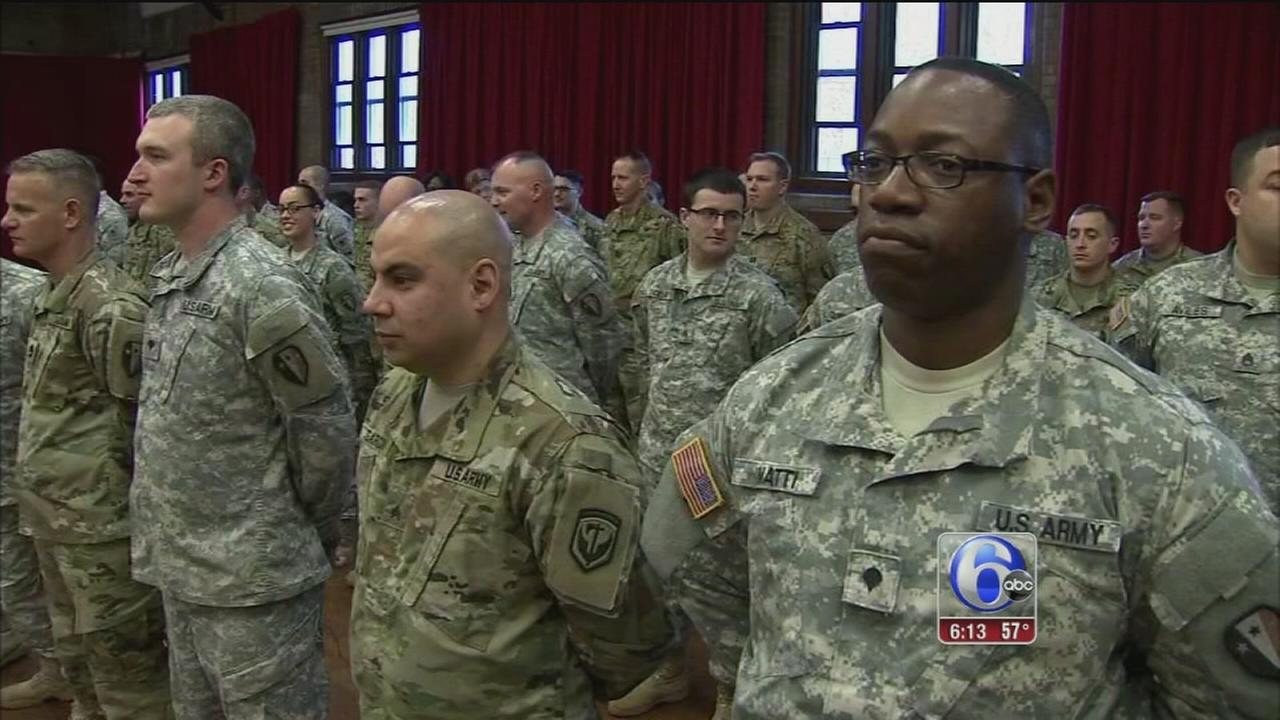 VIDEO: NJ National Guard honored