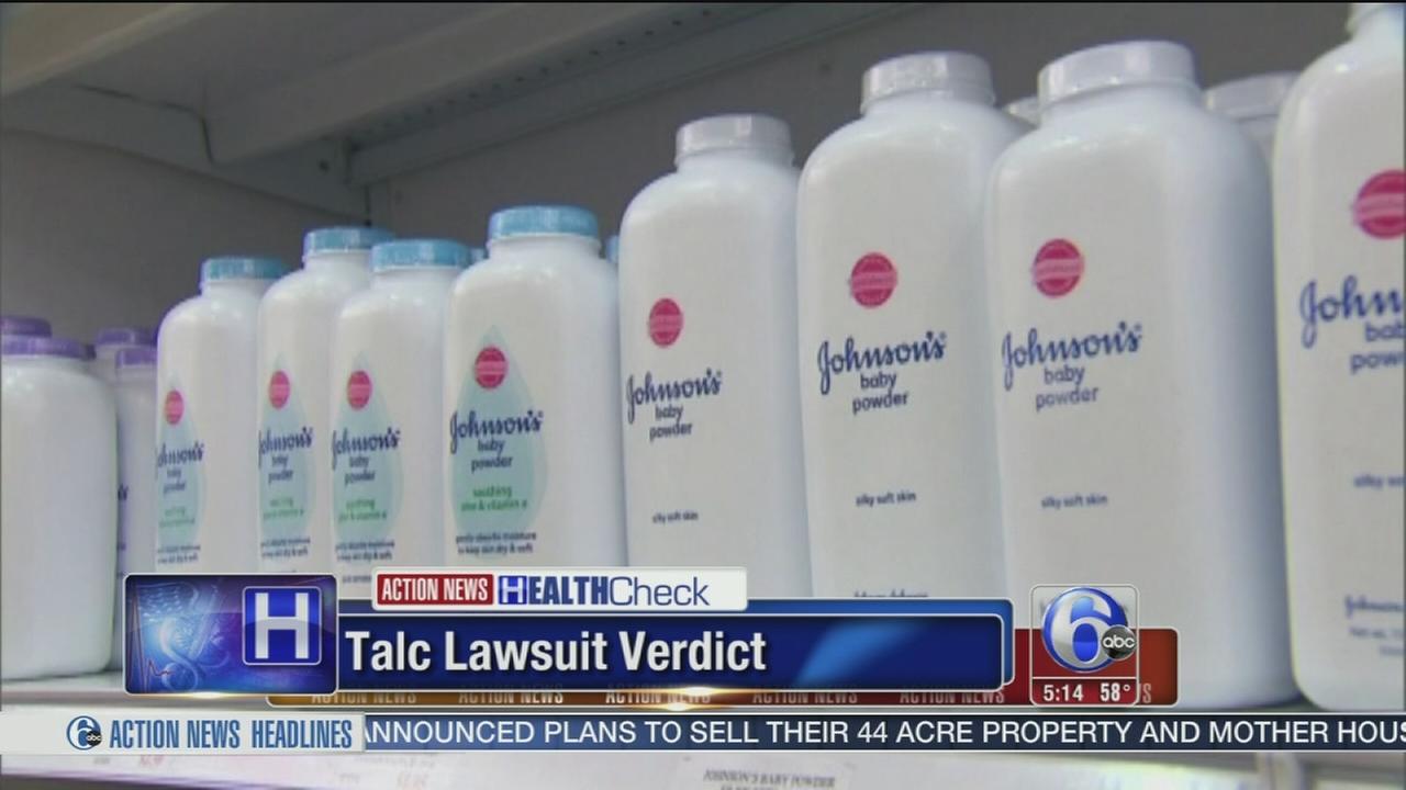 VIDEO: Another big verdict in talc case