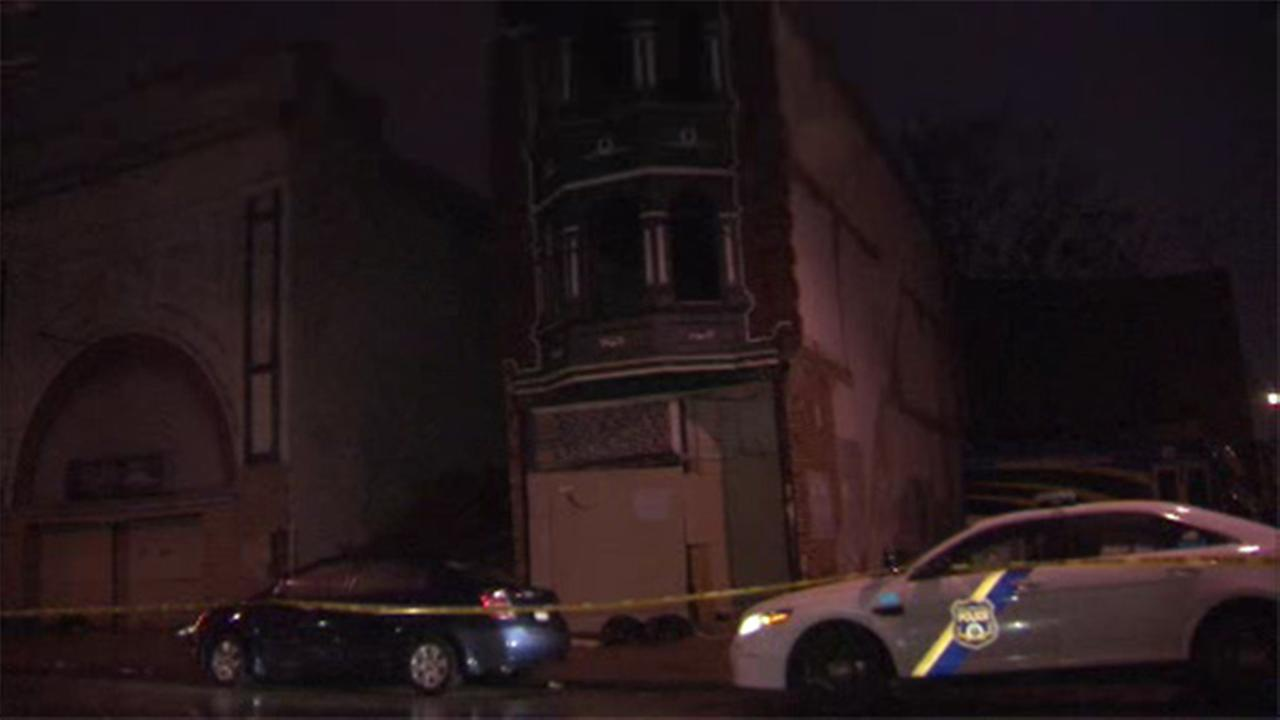 Person rescued from interior building collapse in West Philly