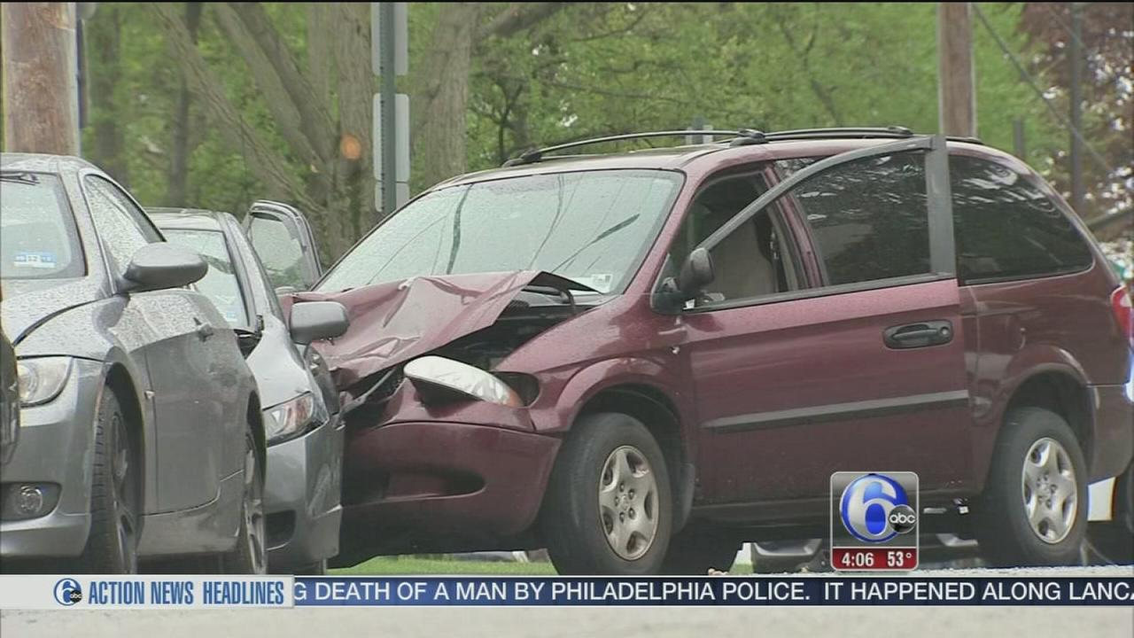 VIDEO: Driver killed in police-involved shooting in Overbrook