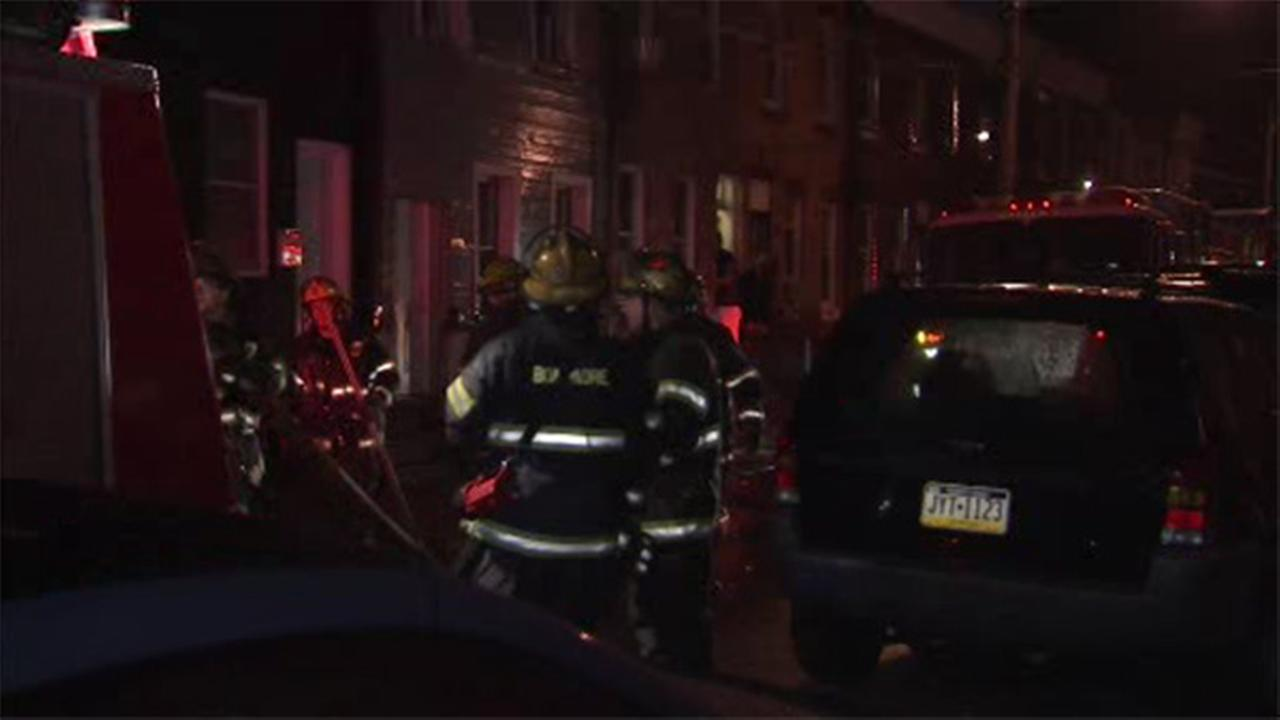 Residents escape burning home in Port Richmond