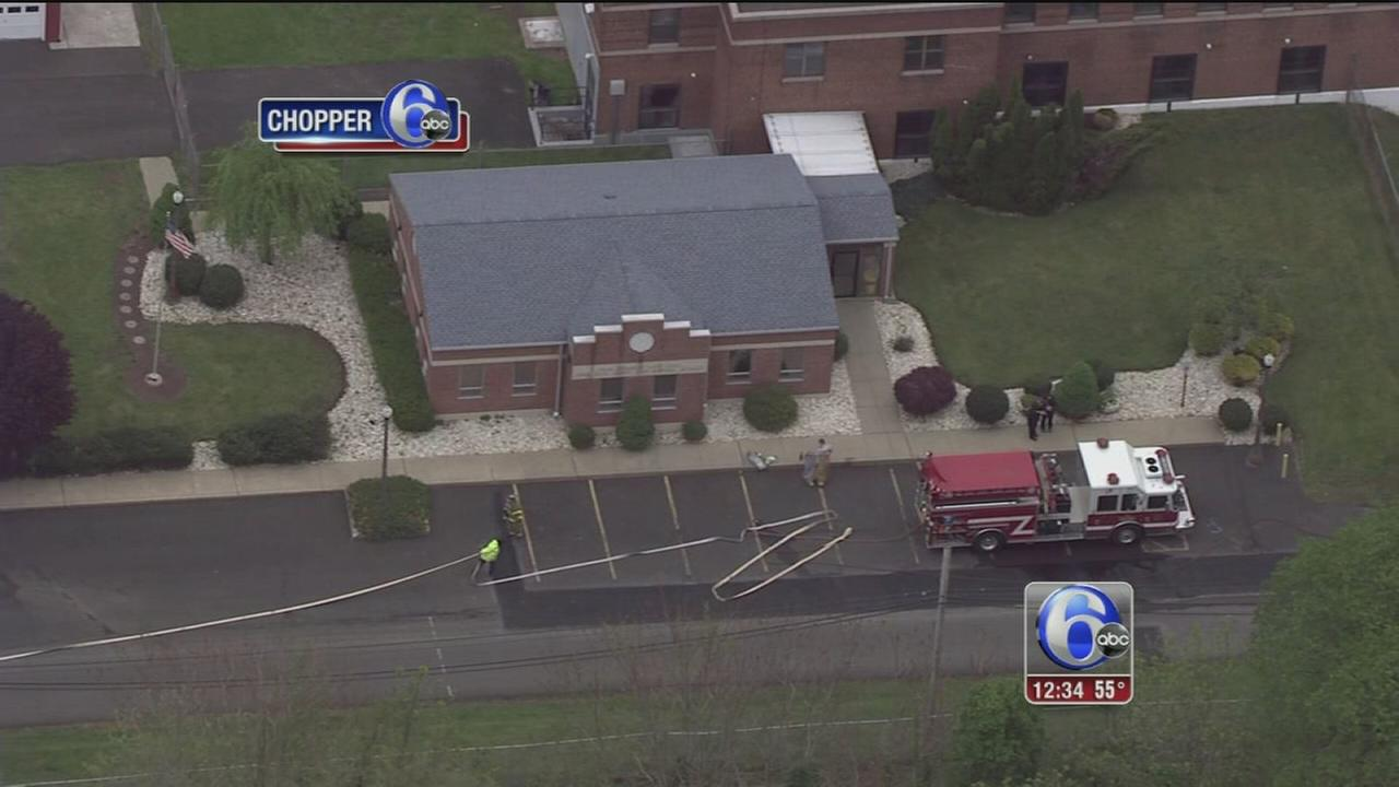 VIDEO: Chemical leak contained in Bucks Co.