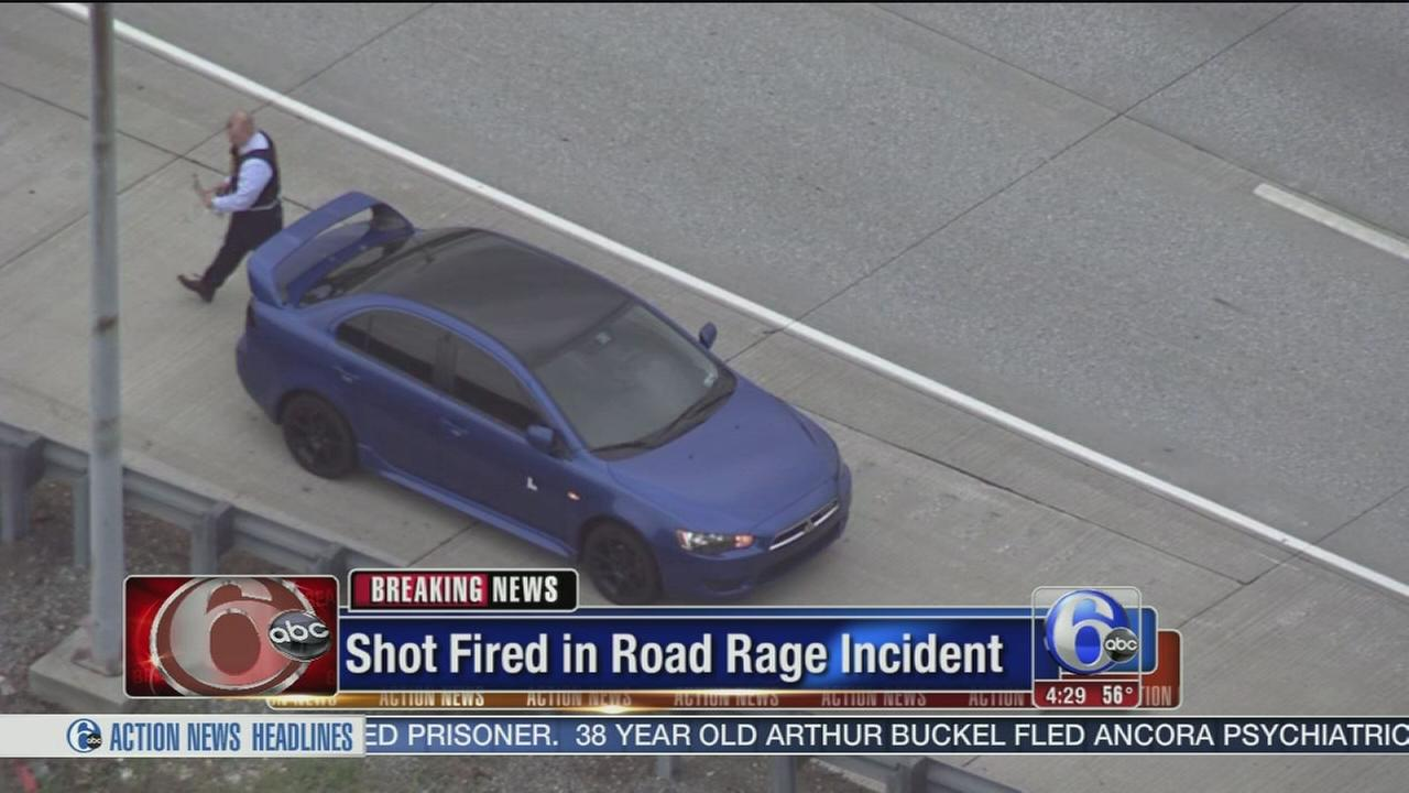 VIDEO: Shot fired in road rage incident