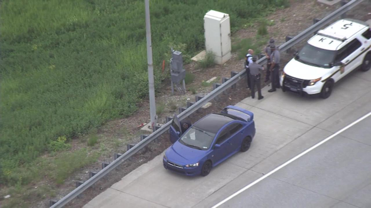 Pennsylvania State Police are say a shot was fired during a road rage incident on the Blue Route in Montgomery County.