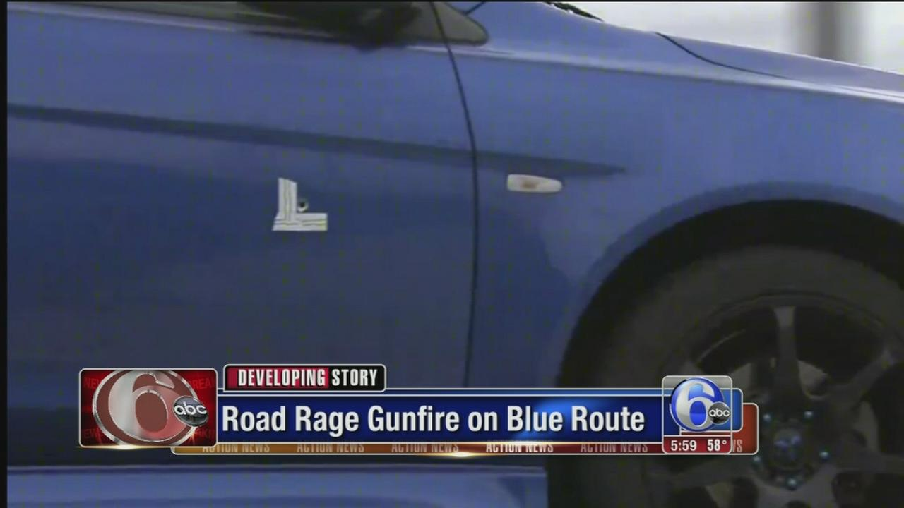 VIDEO: Road rage gunfire on Blue Route