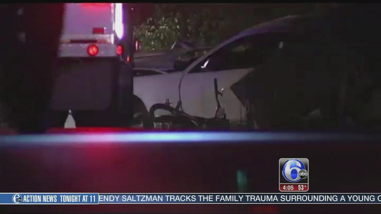VIDEO: 3 dead after car hits parked cars in Bethlehem, catches fire