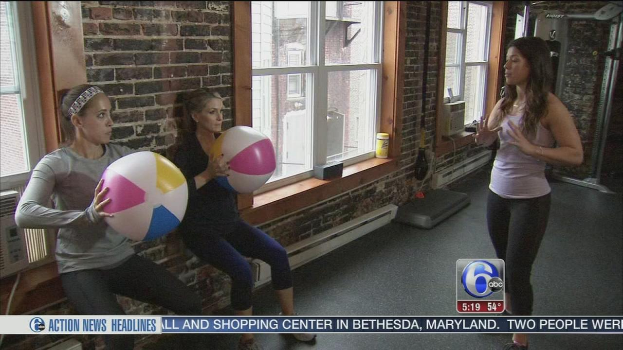 VIDEO: Beach ball body