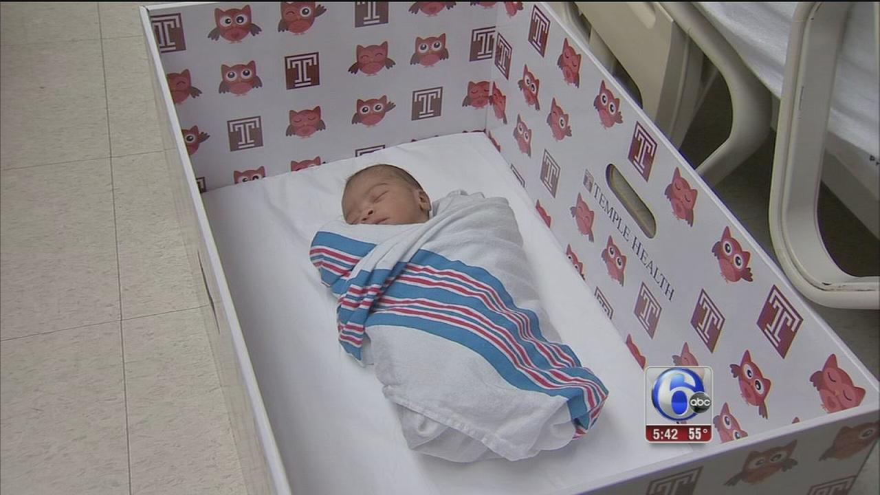 VIDEO: Baby boxes new moms