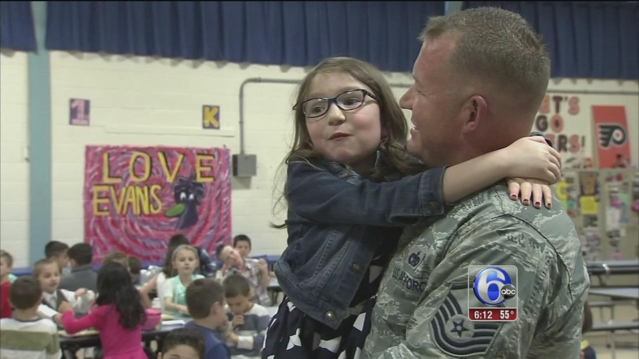 VIDEO: Soldier surprise