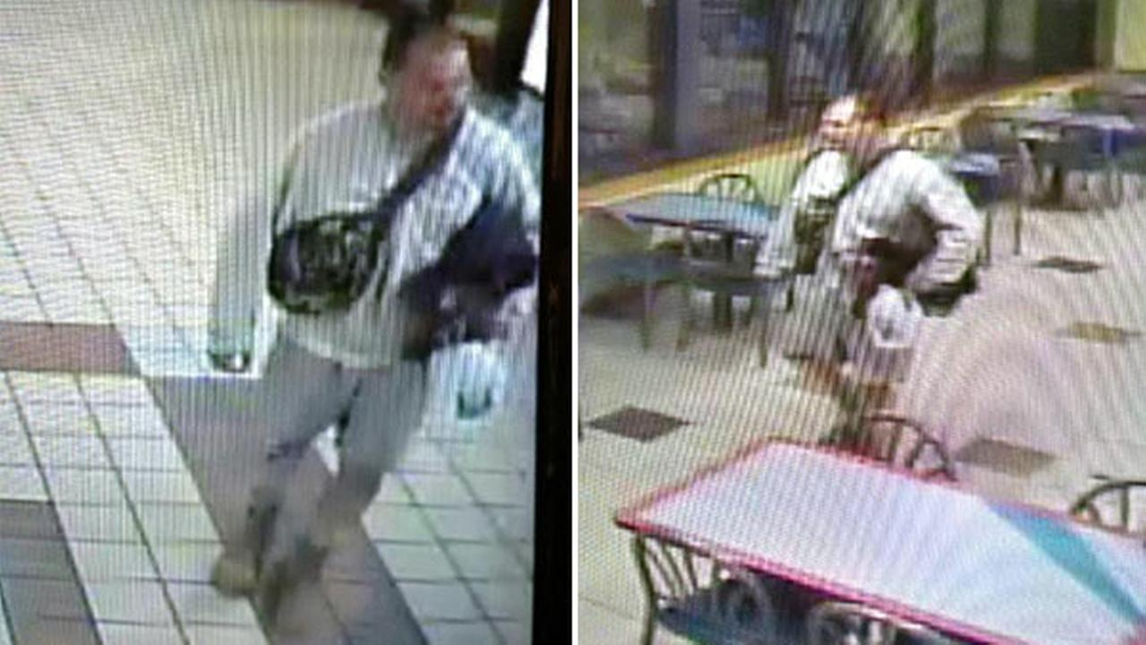 May 8, 2016: Surveillance images from Lacey Twp. Police show escaped inmate Arthur Buckel at the Forked River rest stop on the Garden State Parkway.
