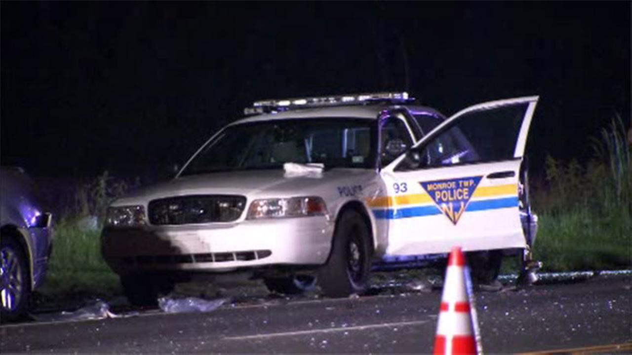 NJ driver facing DUI in crash that injured officer
