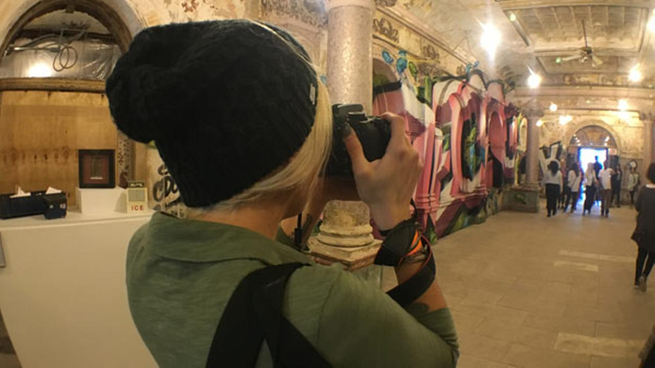 The public got a rare chance to take a look inside in the Divine Lorraine Hotel.