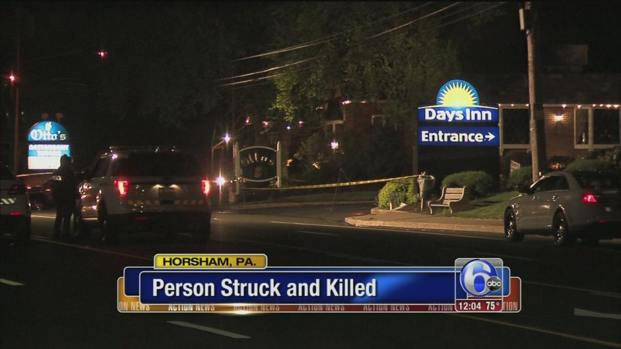 VIDEO: Pedestrian killed in Horsham