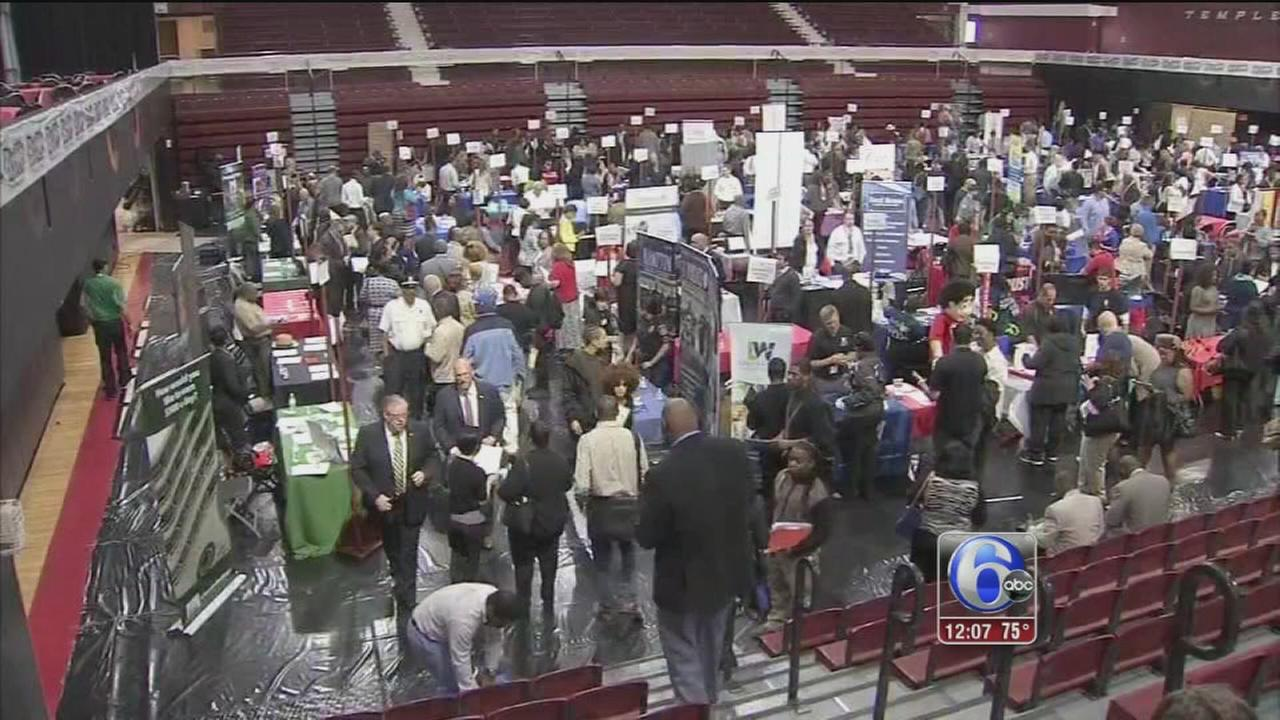 VIDEO: Popular job fair returns to Temple