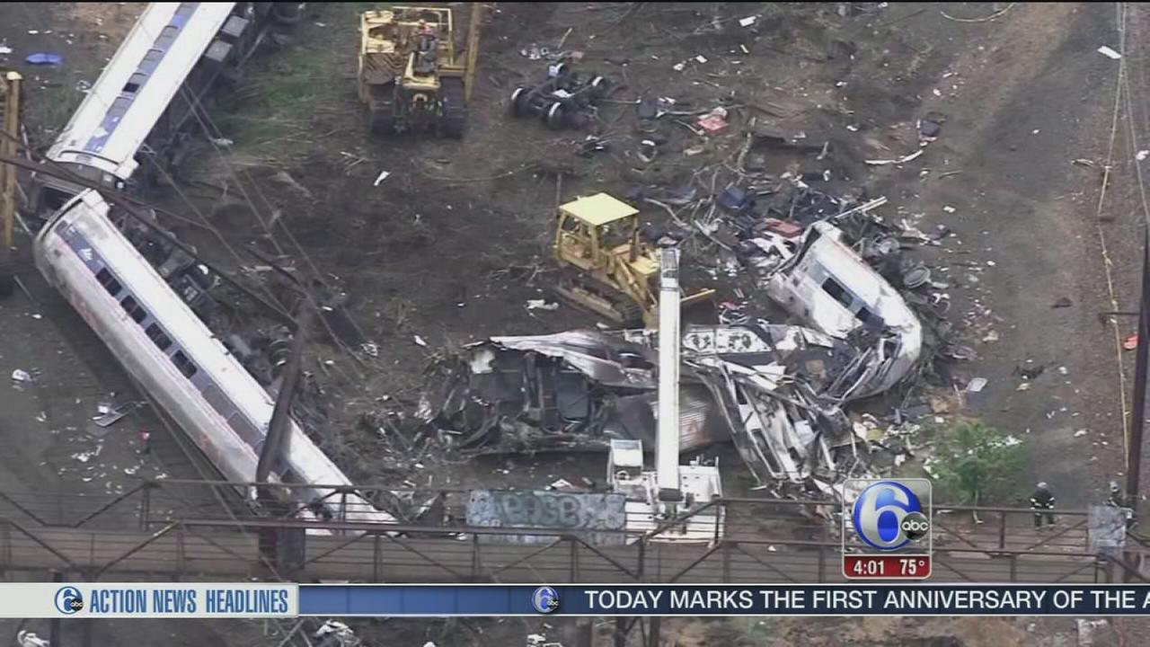 VIDEO: Amtrak crash 1 year later: Probable cause to be revealed