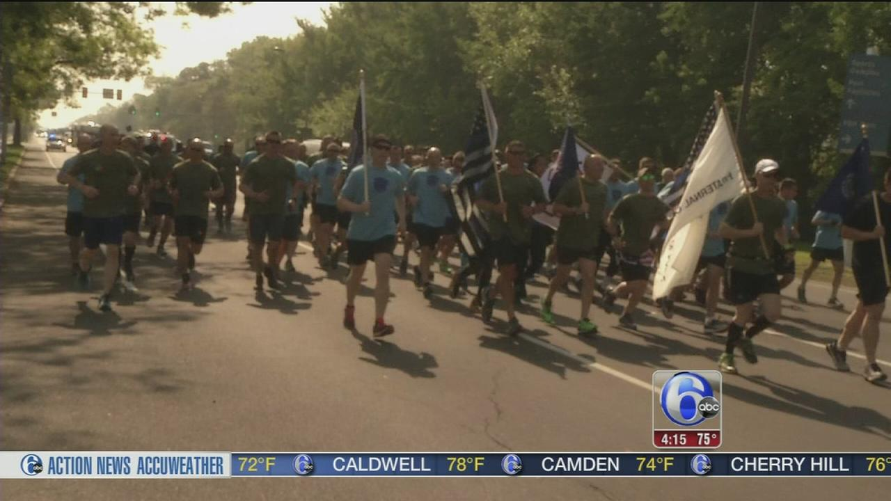 VIDEO: Law Enforcement Memorial Run