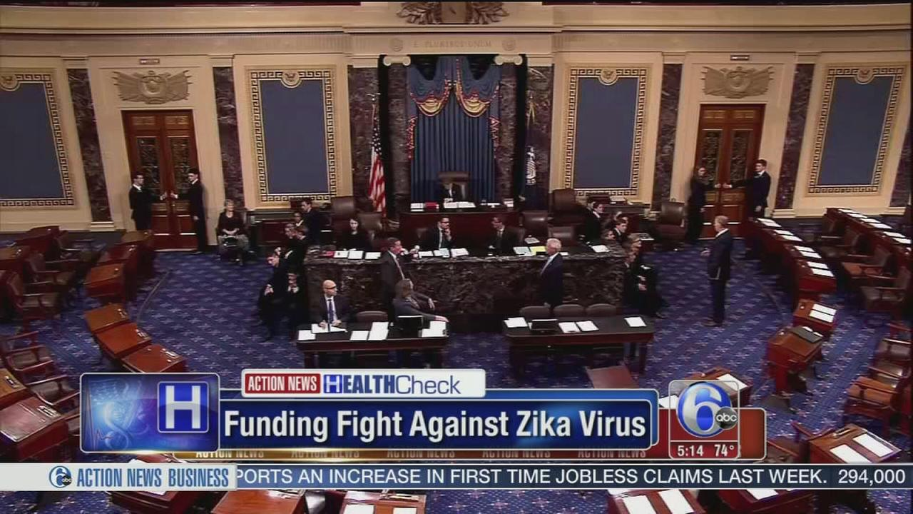 VIDEO: Senate deal reached on reduced Zika funding measure