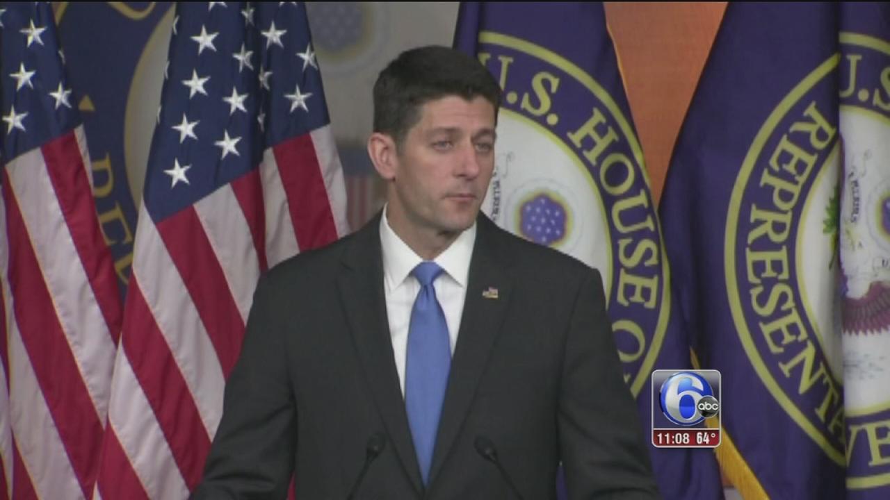 VIDEO: Trump, Ryan pledge to work together