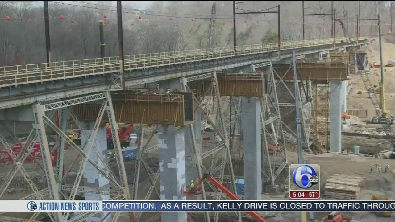 VIDEO: SEPTA viaduct project to impact thousands of commuters