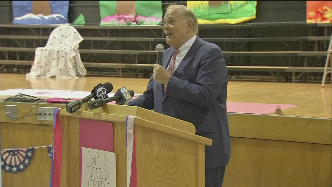Ed Rendell goes back to school