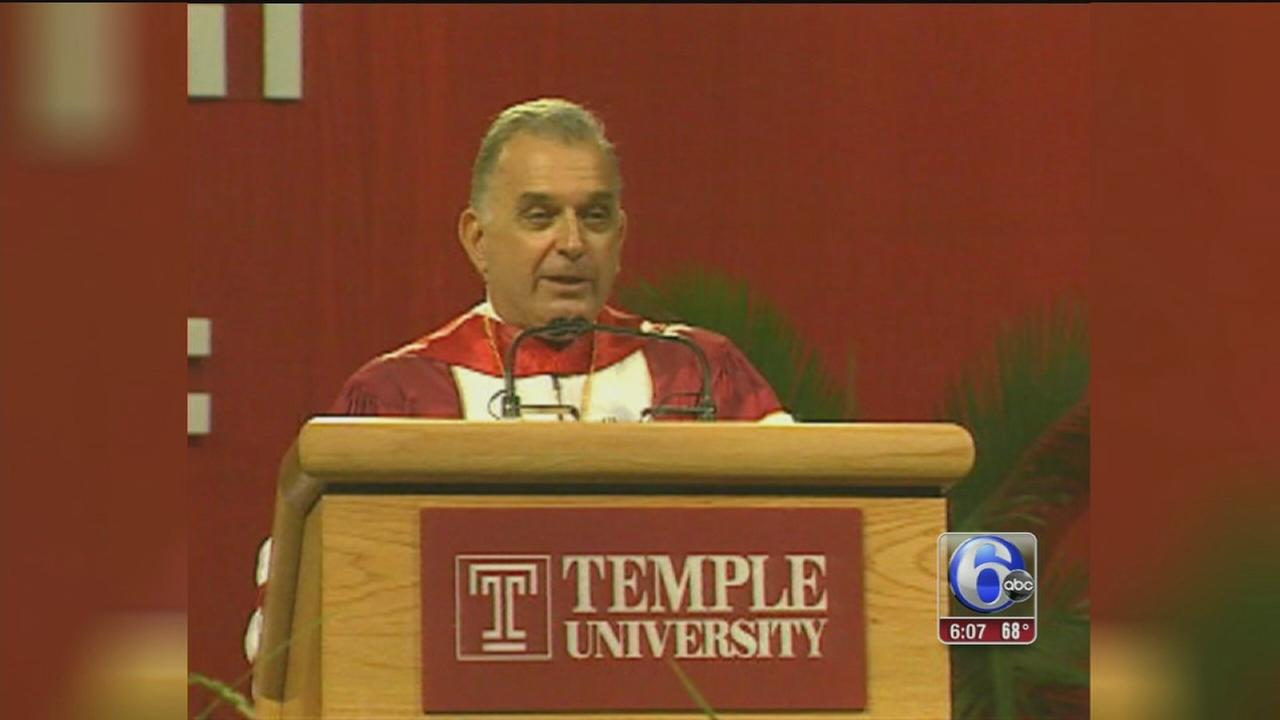 VIDEO: Former Temple University President Peter Liacouras dies