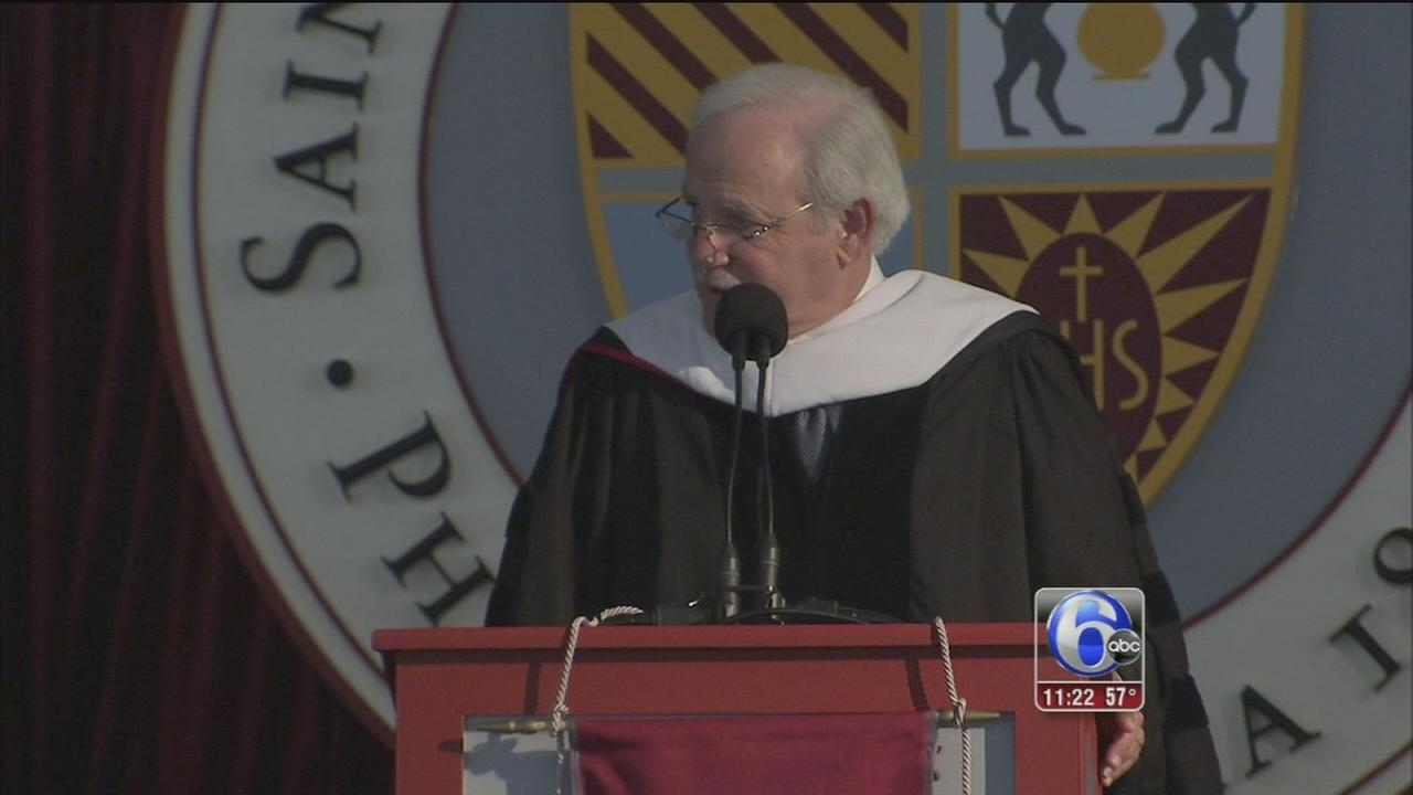 VIDEO: Jim Gardner speaks at St. Joes