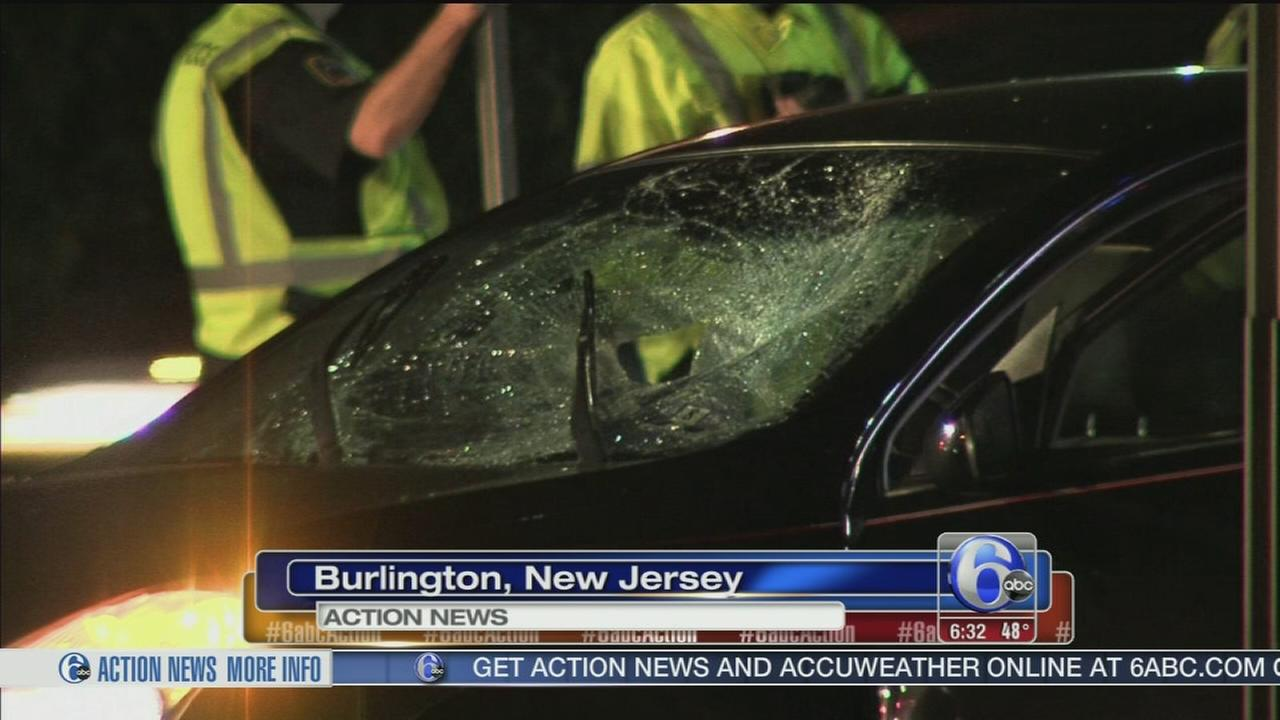 VIDEO: Pedestrian struck by vehicle in Burlington