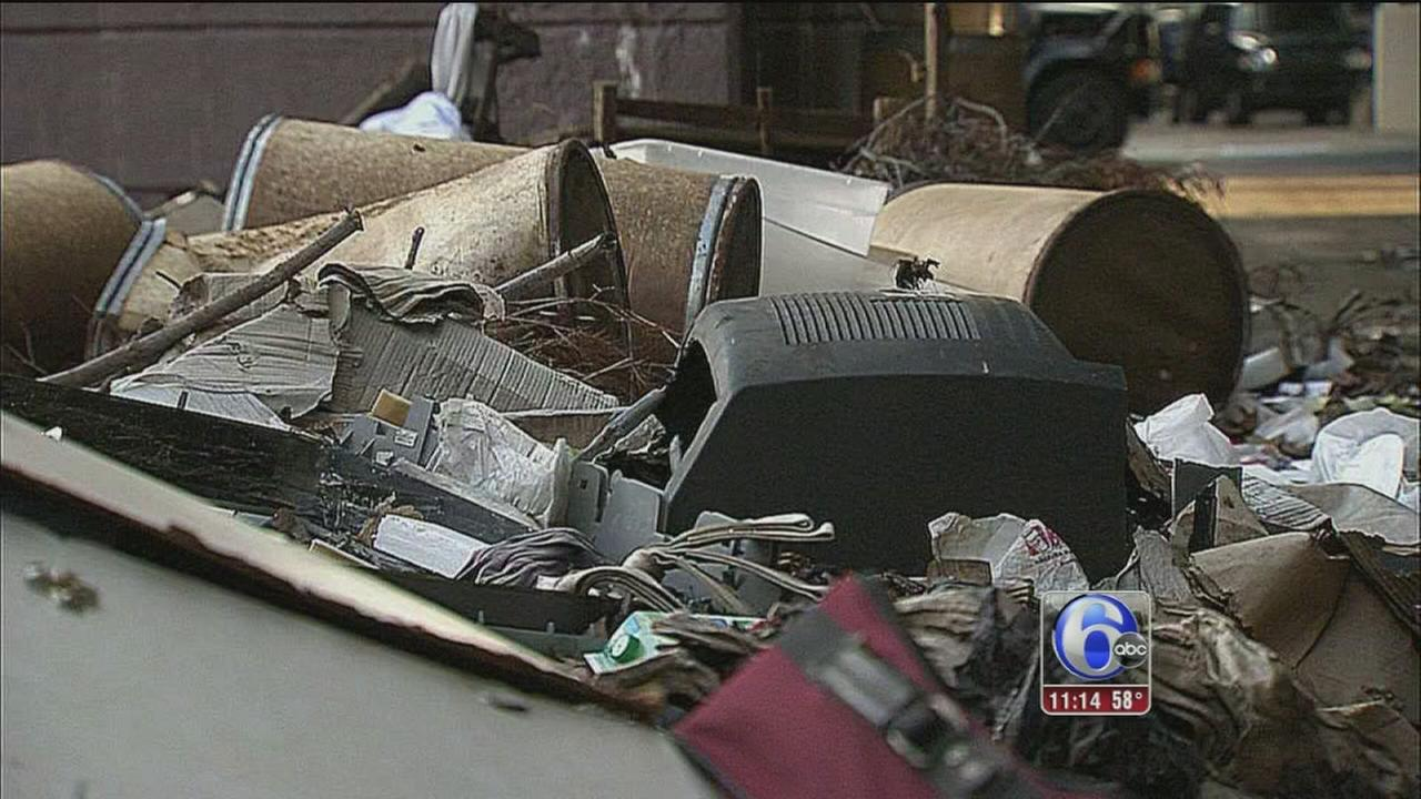 VIDEO: Philadelphia illegal dumpers face consequences