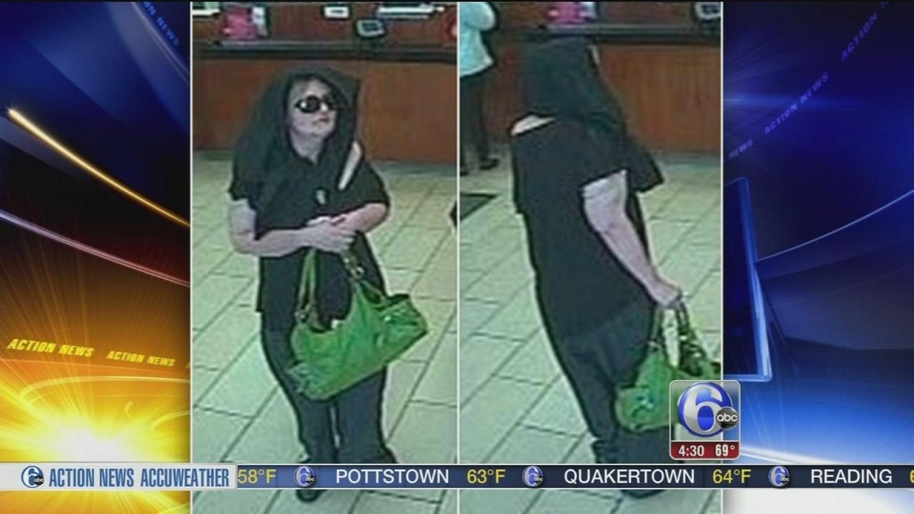 VIDEO: Police: Green purse ties woman to multiple bank robberies