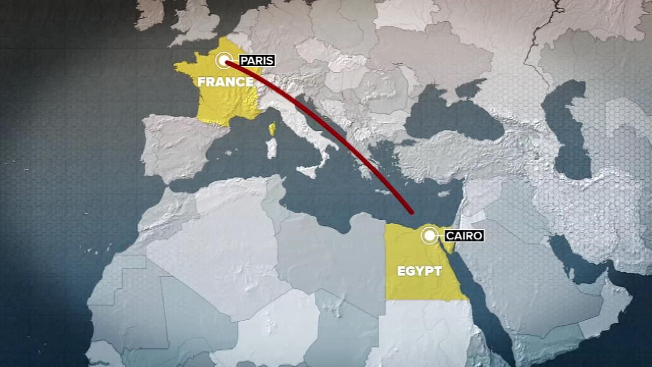 PHOTOS; EgyptAir Flight 804 from Paris to Cairo disappears early Thursday.