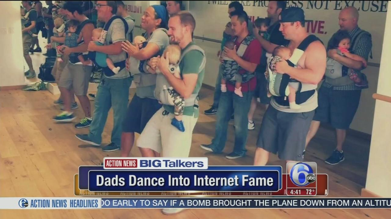 VIDEO: Dads dance to internet fame
