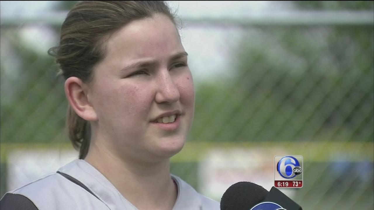 VIDEO: Bucks County athlete bounces back