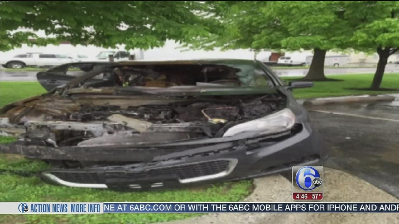 VIDEO: Police: Girlfriend torches ex-boyfriends car for allegedly cheating