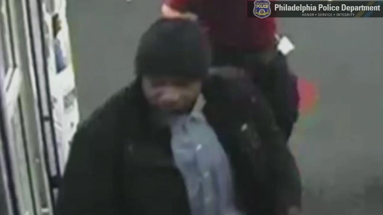 VIDEO: Suspect sought in CVS robbery in Southwest Philadelphia