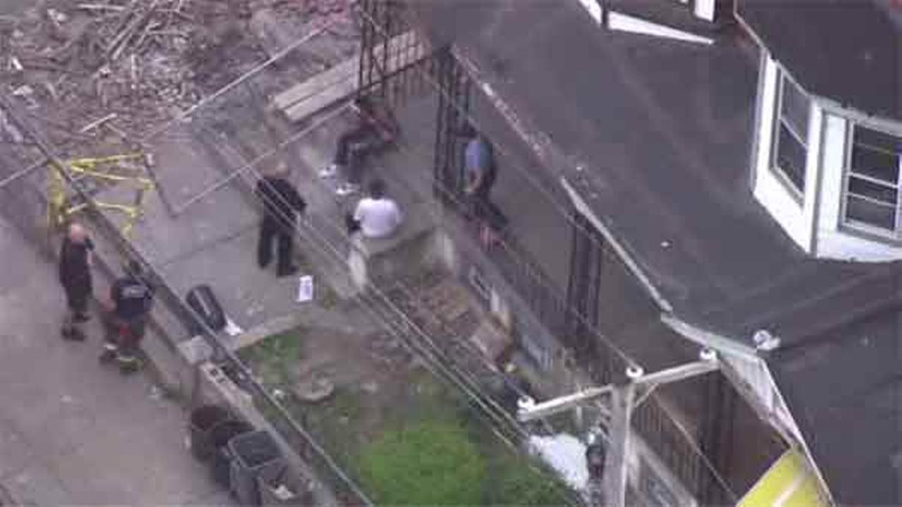 A person of interest has been arrested after an assault in the Tioga-Nicetown section of Philadelphia.