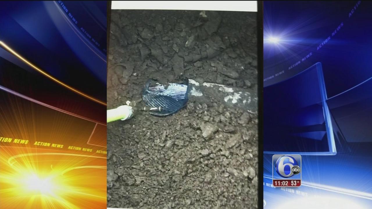 VIDEO: Underground explosion